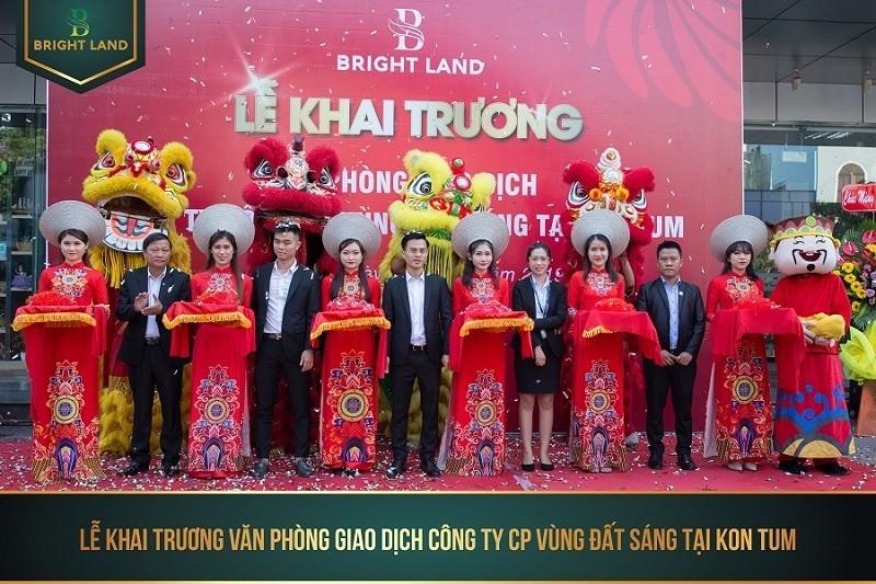Bright Land chính thức khai trương văn phòng giao dịch Kon Tum