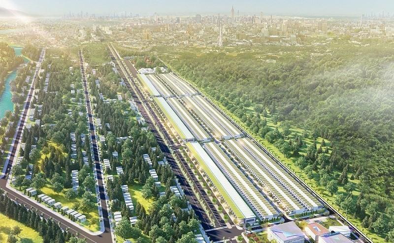 Phối cảnh tổng quan dự án Megacity Kon Tum