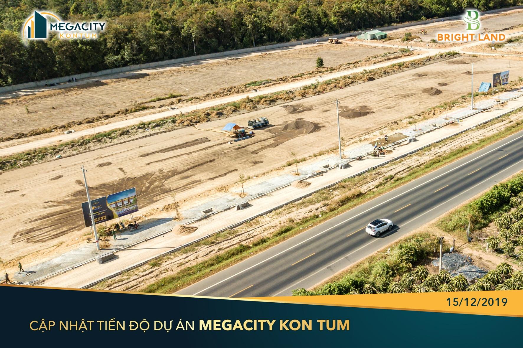 Dự án đã hoàn thiện 95% hạ tầng
